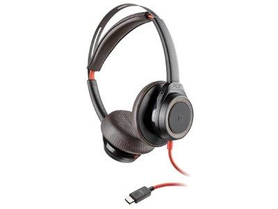 Plantronics Blackwire 7225 USB-C Headset, Zwart