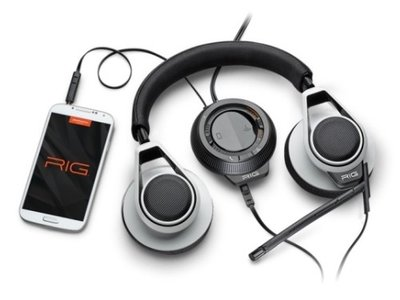 Plantronics RIG headset White